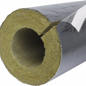 Image of paroc section AluCoat for thermal and condensation insulation