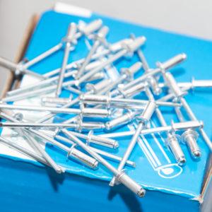 Aluminimum rivets