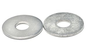 Image of plain hanger and washer