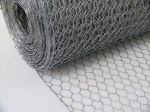 Image of galvanised wire netting