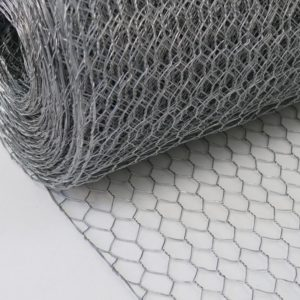 Image of galvanised wire netting