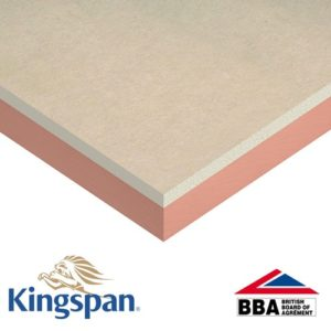Image of kooltherm duct slab foil insulated plaster board
