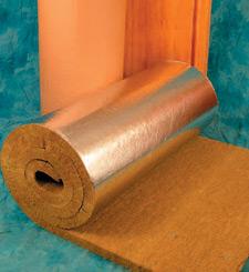 Image of lamella rock fibre insulation