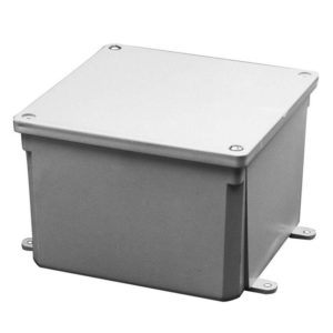 Image of standard junction box for indoor and outdoor application