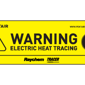 Image of trace heating labels