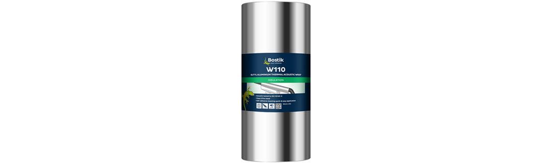 Now stocking Bostik W110 Thermal Acoustic Wrap